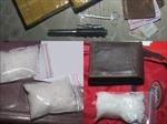 Bắt giữ 4 đối tượng tàng trữ, vận chuyển ma túy