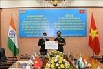 Bộ Quốc phòng Việt Nam tiếp nhận 5 triệu USD của Chính phủ Ấn Độ viện trợ