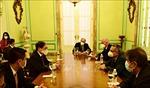 Bộ trưởng Ngoại giao Bùi Thanh Sơn gặp song phương quyền Bộ trưởng Ngoại giao Cuba