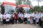 Đoàn cán bộ, nhân viên y tế Bến Tre hỗ trợTP Hồ Chí Minh chống dịch