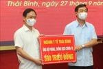 Thái Bình tiếp tục vận động 'Toàn dân đoàn kết, ra sức phòng, chống dịch COVID-19'