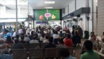 Bệnh viện trang bị màn hình lớn cho bệnh nhân cháy hết mình' cùng tuyển Việt Nam