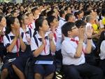Sáng 19/8, khoảng 1,4 triệu học sinh TP Hồ Chí Minh tựu trường