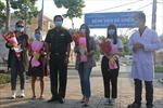 TP Hồ Chí Minh: Bốn bệnh nhân điều trị COVID-19 thành công được xuất viện