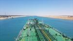 Một tàu chở dầu lại vừa mắc cạn trên kênh đào Suez