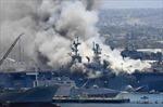 Hải quân Mỹ kết án thủy thủ gây cháy tàu chiến làm thiệt hại hơn 4 tỉ USD