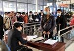 Bắt buộc khai y tế với khách nhập cảnh từ Hàn Quốc