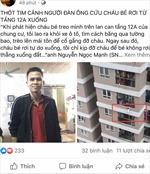 Thanh niên cứu bé gái ngã từ tầng 13, cộng đồng mạng hết lời khen ngợi