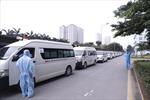 Bệnh viện K vận chuyển 500 người bệnh, người nhà đến nơi cách ly đảm bảo giãn cách