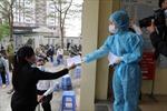 Hà Nội thêm 6 ca dương tính mới trong cộng đồng, Bệnh viện K có 2 ca