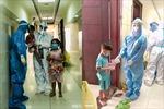Trung thu đặc biệt cùng các em nhỏ ở các bệnh viện điều trị COVID-19