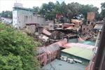 Quận Ba Đình thông tin chính thức về vụ cháy tại khu vực Đê La Thành