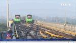 Chạy thử toàn tuyến đường sắt Cát Linh – Hà Đông
