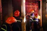 Cháy lớn tại khu dân cư thành phố Điện Biên Phủ