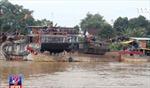 Bắt giữ 3 thuyền bơm hút cát trái phép trên sông Đồng Nai