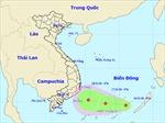 Xuất hiện áp thấp nhiệt đới, cảnh báo mưa dông trên Biển Đông
