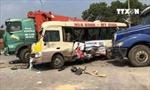 Tai nạn liên hoàn trên đại lộ Thăng Long, 2 người tử vong