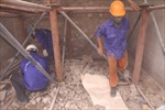 Hà Nội bắt đầu đục thông vòm cầu đường sắt trăm năm tuổi