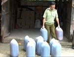 Bình Phước phát hiện hàng trăm lít dầu ăn bẩn
