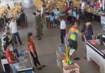 Tạm đình chỉ công tác thượng úy công an tát nhân viên siêu thị ở Thái Nguyên