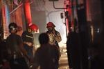 Cháy lớn thiêu rụi gian hàng bán đồ gia dụng trong đêm