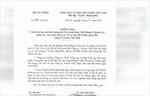 Bộ Tài chính chỉ đạo xác minh vụ Công ty Tenma Việt Nam đưa hối lộ