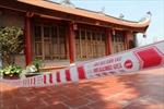 Đền Ba Voi phải đóng cửa do sạt lở sông Cà Lồ