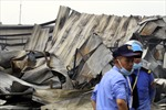 Cháy rụi tại một nhà xưởng tại khu Công nghiệp Yên Phong (Bắc Ninh)