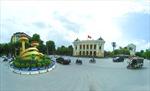 Quảng trường Cách mạng Tháng Tám ở Thủ đô Hà Nội
