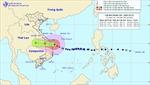 Bão số 9 giảm đi một cấp, Thừa Thiên - Huế đến Phú Yên đã có mưa rất to