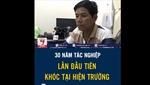 Phóng viên khóc nghẹn tại Trà Leng chia sẻ về bức ảnh cứu hộ gây xúc động