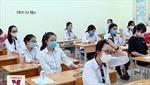 Đình chỉ thi tốt nghiệp THPT nếu mang vật dụng bị cấm vào phòng chờ