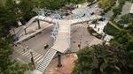 Cây cầu vượt bộ hành hình chữ Y có tính thẩm mỹ cao tại Hà Nội