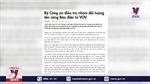 Xử lý nghiêm các đối tượng tấn công mạng Báo điện tử VOV