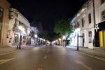 Đêm Hà Nội 'thinh lặng' trong giãn cách xã hội