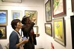 """Triển lãm tranh """"Đi qua mùa thu"""" của 3 em gái liệt sĩ Đặng Thùy Trâm cùng các người bạn"""