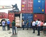 Đã giảm gần 11.000 container phế liệu lưu giữ tại cảng biển