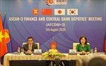 Tháng 9 sẽ diễn ra Hội nghị Bộ trưởng Tài chính và Thống đốc Ngân hàng Trung ương ASEAN+3