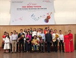 Trao học bổng hỗ trợ tài năng trẻ âm nhạc Việt Nam năm 2018