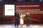 Suntory PepsiCo Việt Nam – Top 3 doanh nghiệp phát triển bền vững 2018