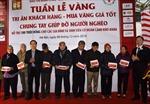 Đặt hòm từ thiện tại hệ thống cửa hàng Bảo Tín Minh Châu