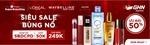 Đơn hàng L'Oreal tăng gấp 30 lần trong ngày hội thương hiệu của Shopee