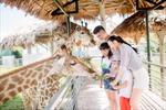 Tổ ấm của hơn 2000 động vật hoang dã ở vườn thú lớn nhất Bắc Trung bộ