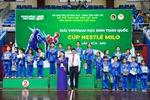 700 em học sinh tham gia tranh Cúp Nestlé MILO