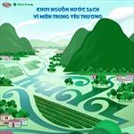 Huda mang nước sạch đến những làng quê miền Trung