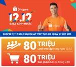 Shopee phá vỡ mọi kỷ lục với hơn và 80 triệu sản phẩm bán ra trong sự kiện 12.12
