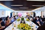 Hiệp hội Doanh nghiệp TP.HCM thăm chúc tết đầu Xuân và làm việc tại SCB