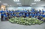 Ngân hàng Shinhan Việt Nam chung tay cùng cộng đồng tiếp sức nông sản Việt