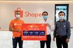 Shopee hỗ trợ ủng hộ 3 tỷ đồng hỗ trợ các cơ sở y tế và bệnh viện tuyến đầu chống dịch COVID-19