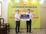 TCPVN hỗ trợ 500 triệu đồng cho Bệnh viện Bạch Mai đẩy lùi dịch COVID-19